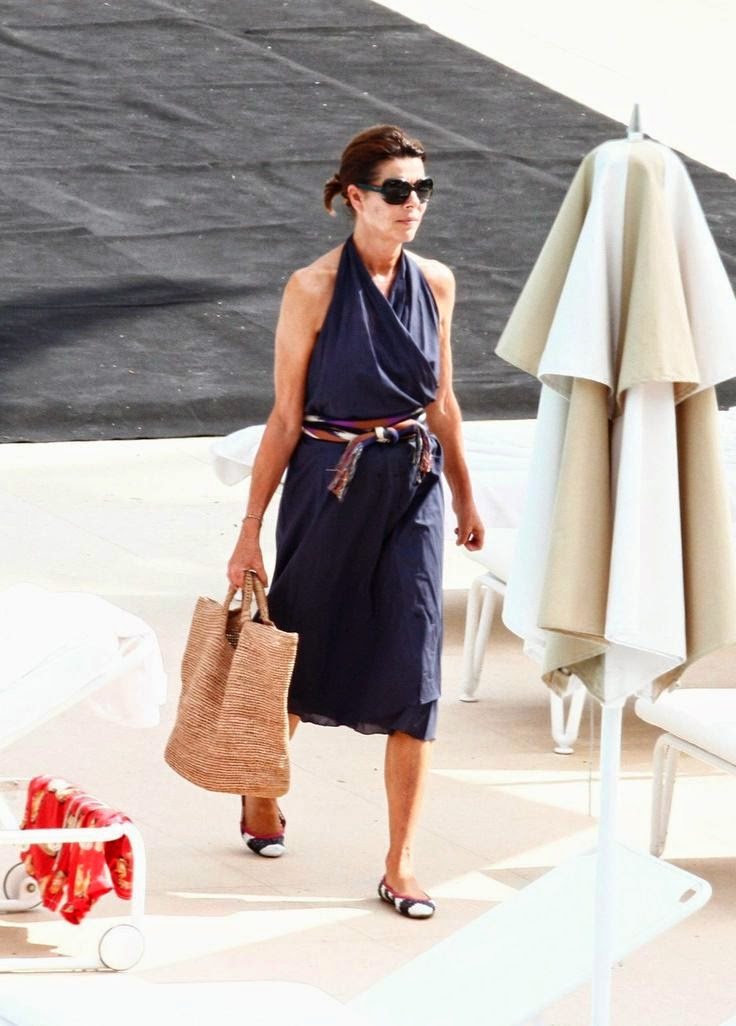 Princess Caroline in Saint-Tropez by Cool Chic Style Fashion