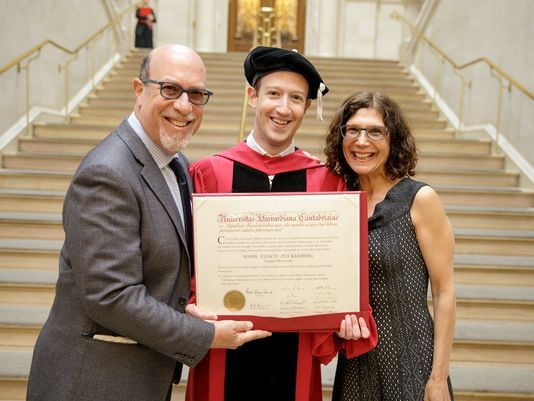 This Facebook Boss Message After Graduated from Harvard