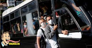 Secuestraron un utobús en Guarenas y dejaron a los pasajeros sin nada de ropa