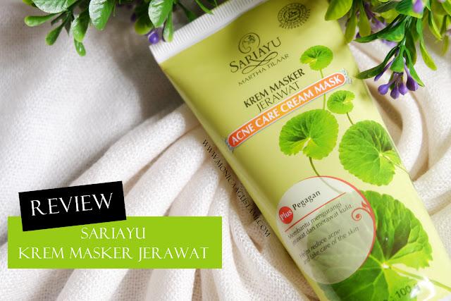Review Sariayu Krem Masker Jerawat