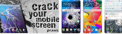 Aplikasi Layar Retak Hancurkan Layar Ponsel Anda: Lelucon