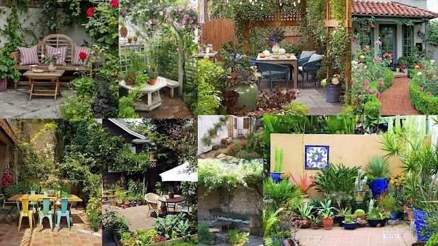 Διαμορφώσεις για μικρούς κήπους - αυλές