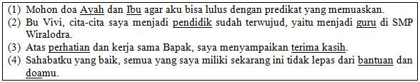 Soal UKK Bahasa Indonesia Kelas 7 Tahun 2021
