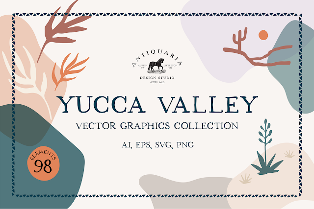 Yucca Valley Vector Graphics
