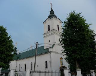 Ужгород. Вул. Цегольнянська. Преображенська церква. 1802 р.