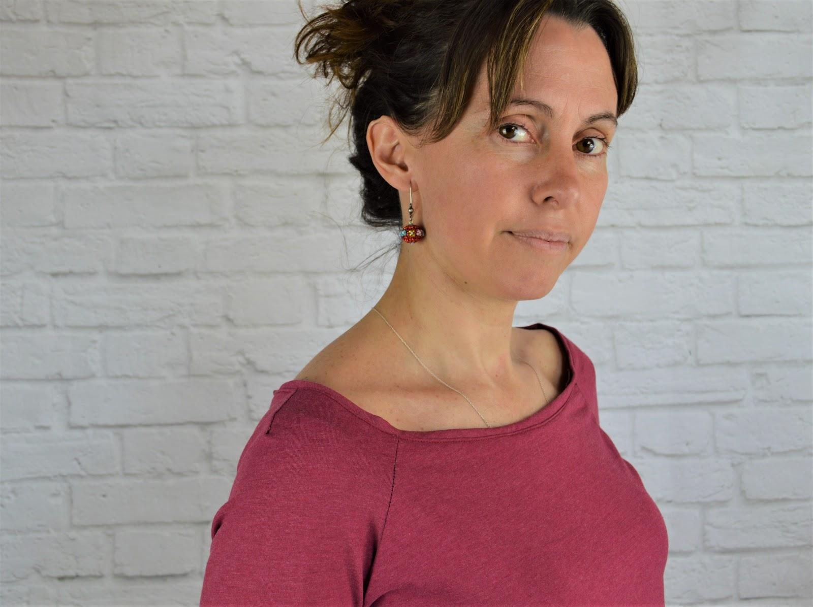 Camiseta printed lace ottobre design para mujer
