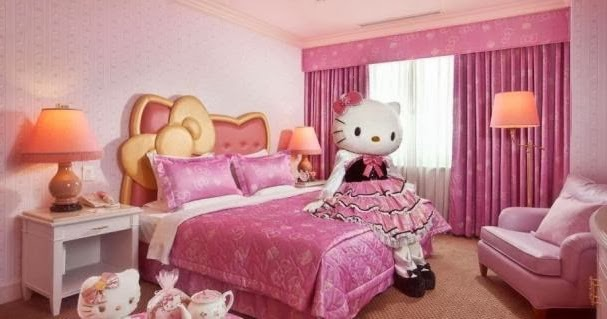 Cute Japanese Cat Wallpaper Hello Kitty Bedroom Decorating Ideas For Kids