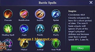 Battle Spell Mobile Legends