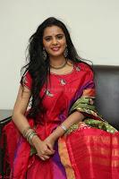 Manasa in Pink Salwar At Fashion Designer Son of Ladies Tailor Press Meet Pics ~  Exclusive 34.JPG