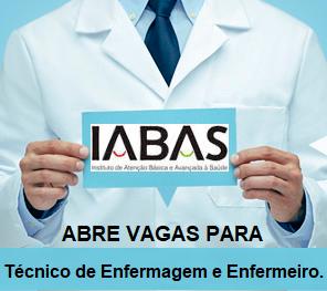 Apostila IABAS-RJ Processo Seletivo Técnico de Enfermagem e Enfermeiro