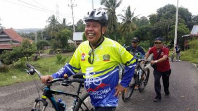 Tim Sepeda Lapas Watampone Semarakkan Cross Country Sinjai