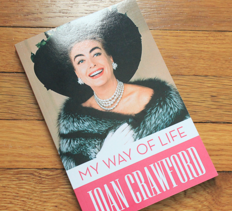 A Vintage Nerd Book Review Joan Crawford My Way Life Old Hollywood Biography