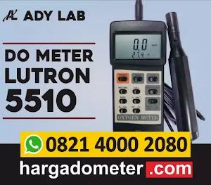 Ady Lab Jual DO Meter untuk Kolam Ikan, Filter Air Minum, Industri | DO Meter Lutron 5510