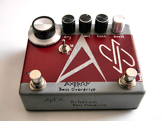 ΑCHERON Bass Overdrive w/ Clean Blend & Boost