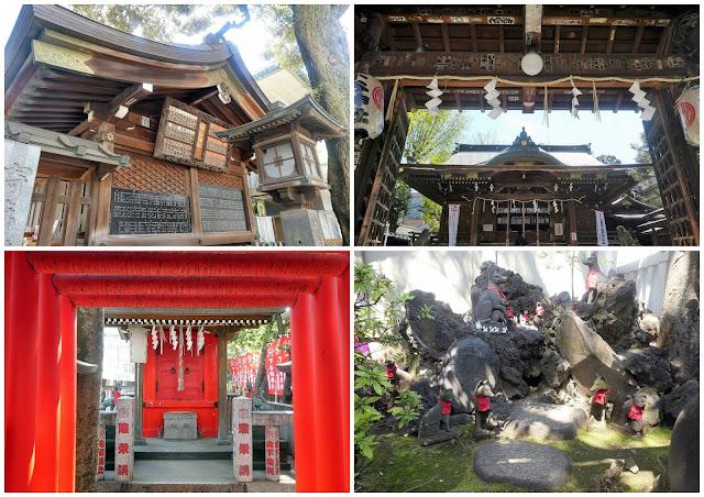 templos y santuarios por el barrio de asakusa