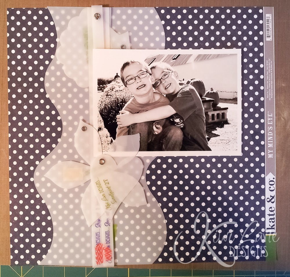 Layout framing with Kiwi Lane designer templates -- www.MightyCrafty.me