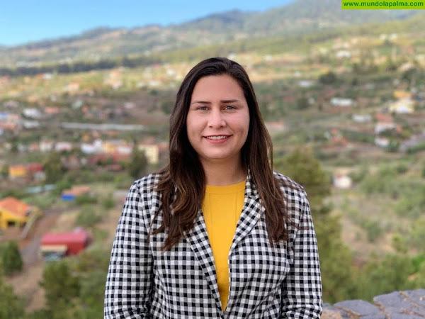 """Mónica Gómez: """"Gracias a la presión de CC, se abrirán los procesos para dotar de personal a la Residencia de Mayores de Puntagorda"""""""