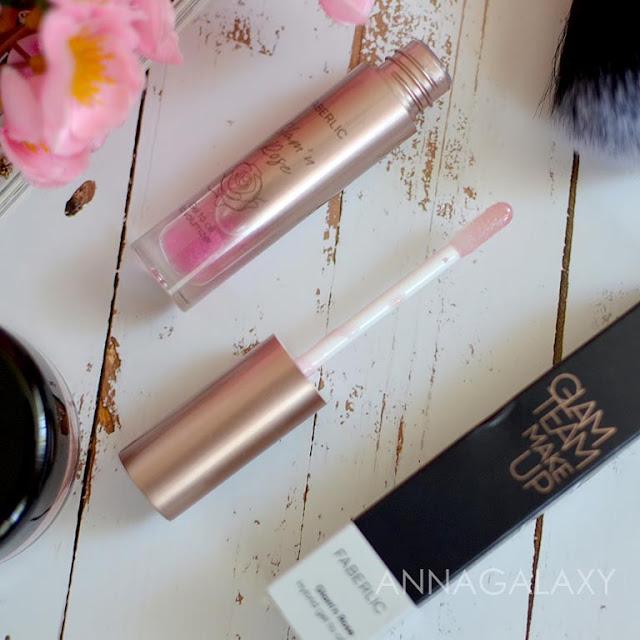 Аппликатор Гибридное гель-масло для губ Glam'n Rose 41028 розовая фуксия