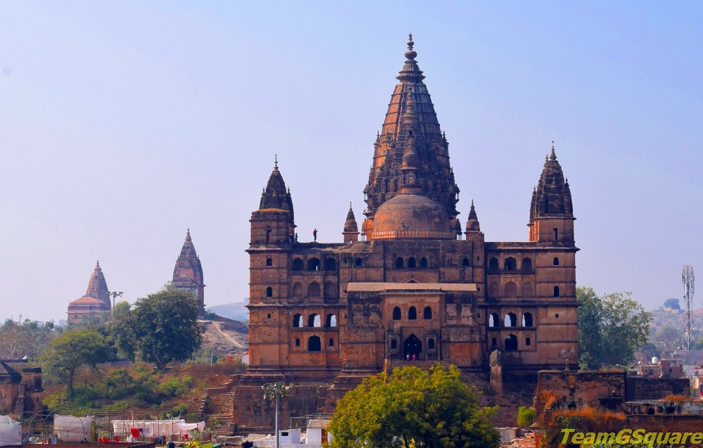 The Mighty Chaturbhuj Temple, Orchha