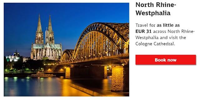 北萊茵-威斯特法倫邦票 | SchönerTagTicket NRW | 2020年版