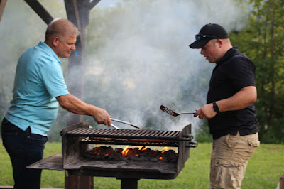 Grilling with Gil Bates and Zach Bates