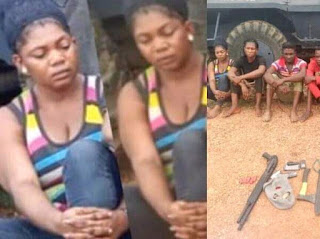 Lady who faked her kidnap is arrested with her accomplice