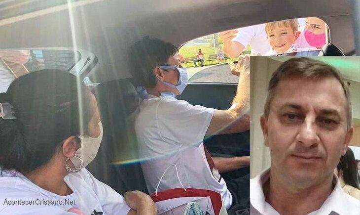 Hombre con pulmón dañado se sana de Covid-19