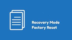 Factory Reset dari Recovery Mode