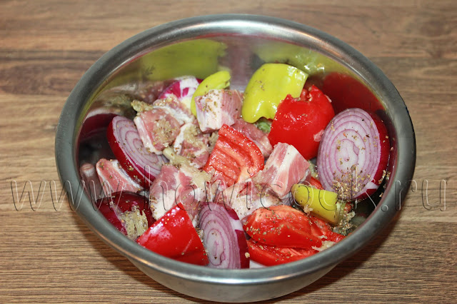 рецепт сувлаки с пошаговыми фото