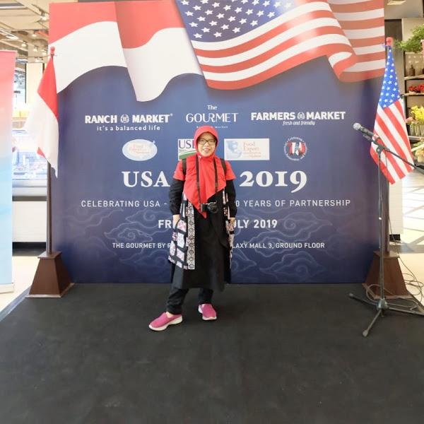 The Gourmet By Ranch Market, Memperkenalkan Produk-Produk Amerika Melalui USA Fair 2019