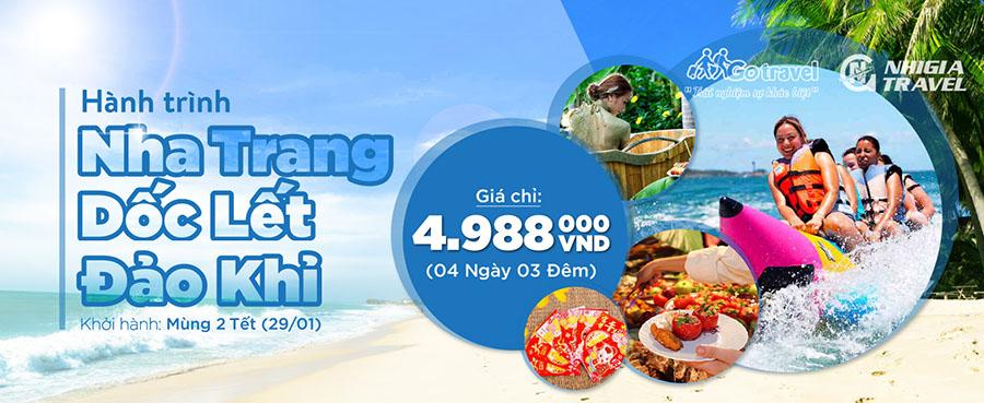 Tour du lịch Nha Trang - Mừng xuân Đinh Dậu