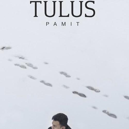 cover single terbaru Tulus Berjudul Pamit
