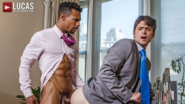 Devin Franco Flip-Fucks With Suited Stud Jacen Zhu (Bareback)