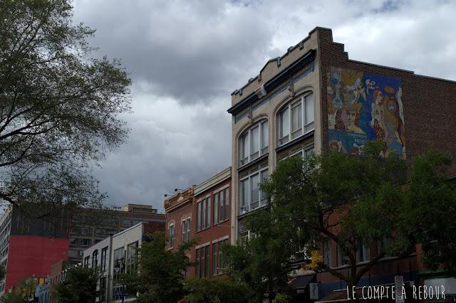Visite de Montréal au Canada