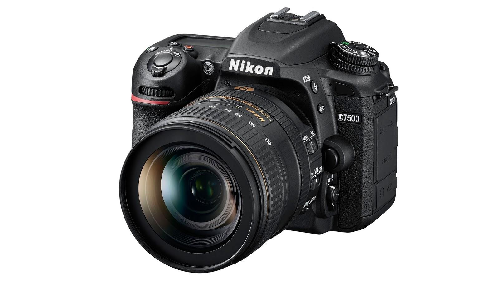 Nikon D7500 с объективом 16-80mm