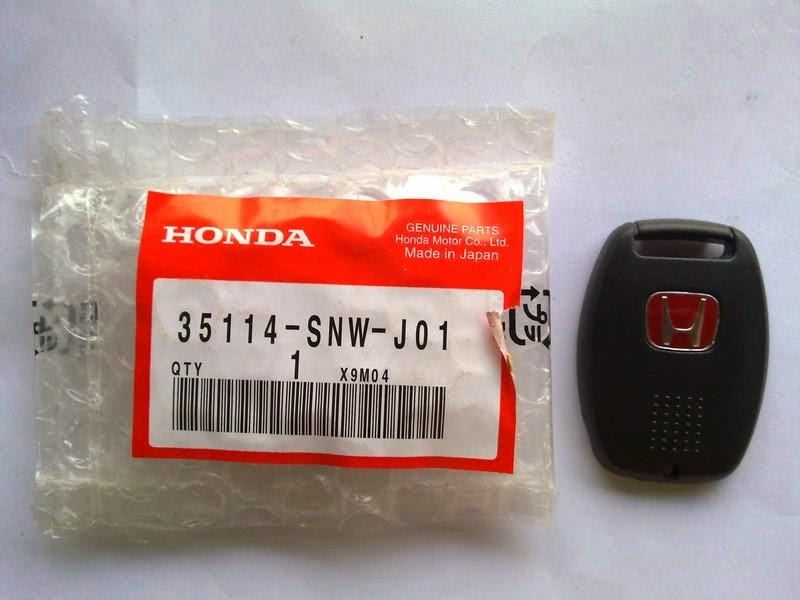 AZP Store: Genuine HONDA TYPE R Key Fob - For Honda Cars