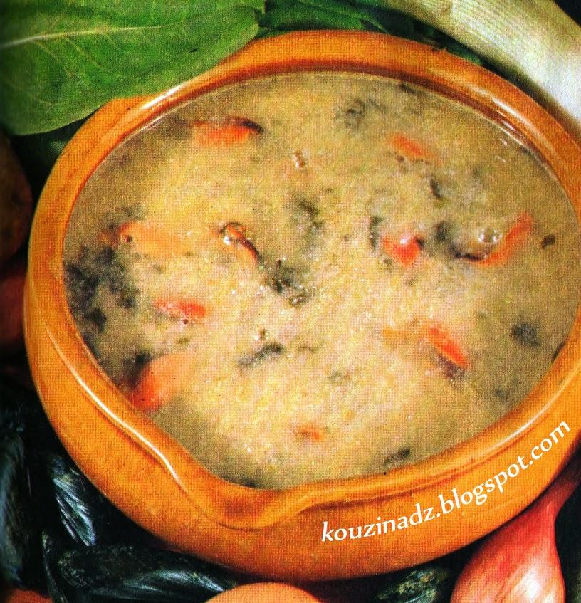 La Cuisine Algérienne Graines De Cafe: La Cuisine Algérienne: Soupe De Poisson