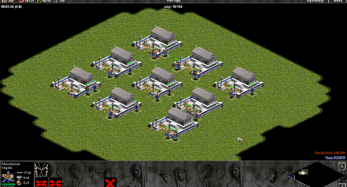 Macedonian cũng là quân tuyển trong vòng Age of Empires
