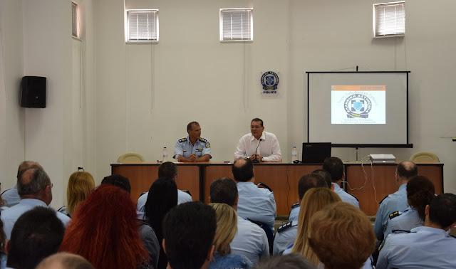 Ενημερωτικές επισκέψεις ψυχολόγου της Ελληνικής Αστυνομίας σε αστυνομικές Υπηρεσίες της Πελοποννήσου