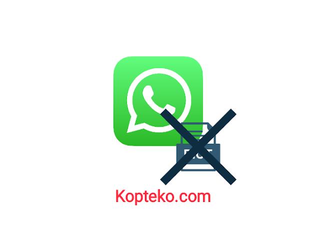 Tidak Bisa Kirim Gambar di WhatsApp