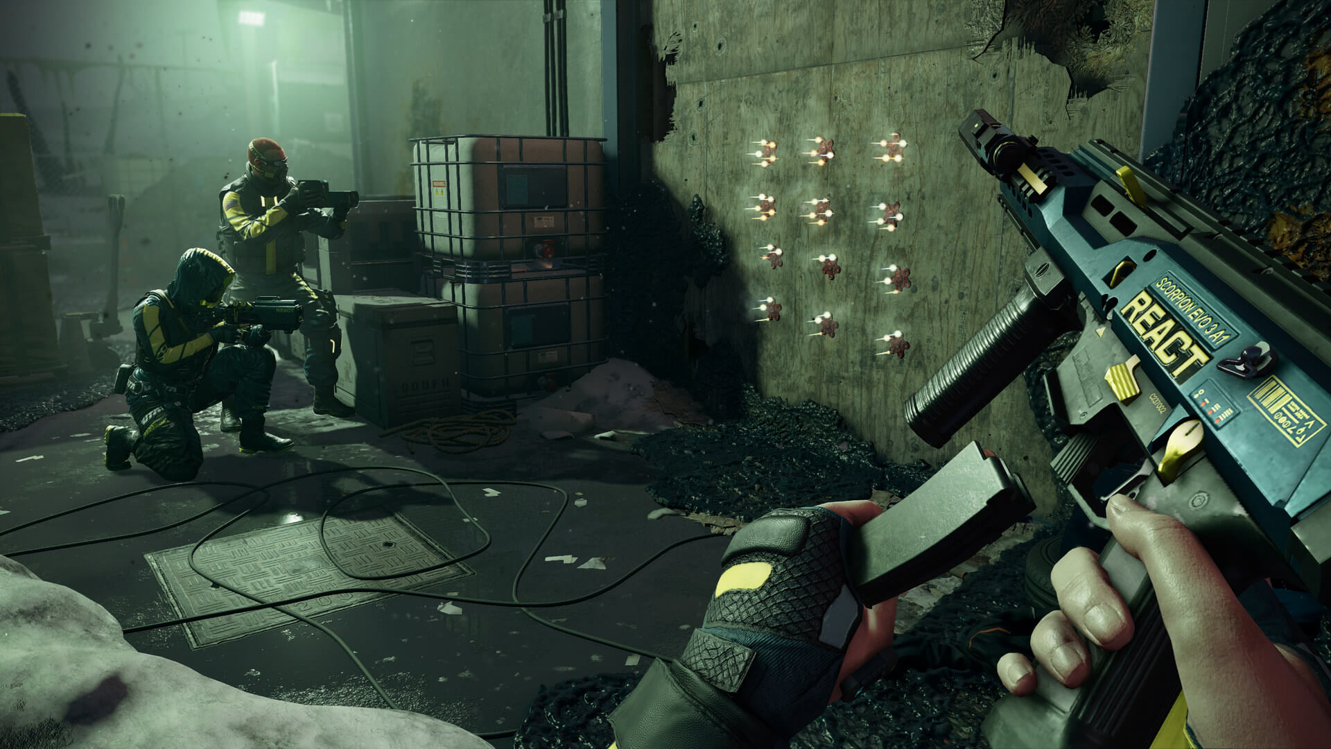 Tom Clancy's Rainbow Six Extraction first official screenshots