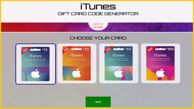 Free Itunes Gift Card Codes Generator 2021