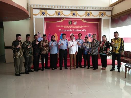 DPRD Lampung Kunjungi Kanwil Kemenkumham Dan Kejati