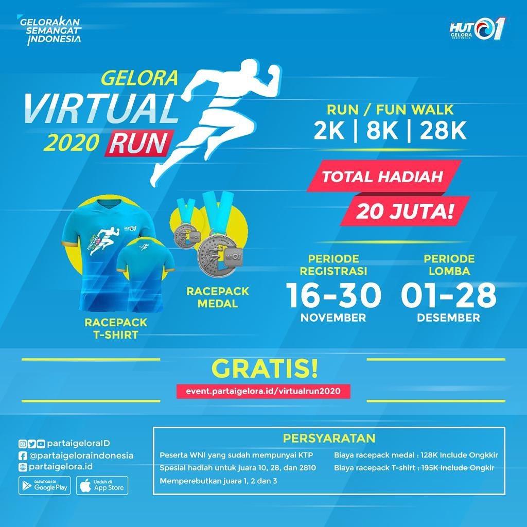 Gelora Virtual Run • 2020