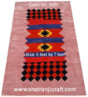 Shatranji (শতরঞ্জি) Floor Mat SC-3583