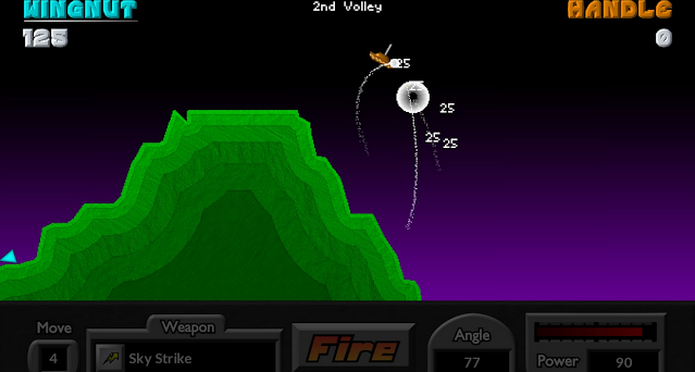 تحميل لعبة Pocket Tanks للكمبيوتر برابط مباشر
