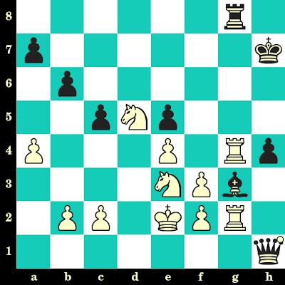 Les Blancs jouent et matent en 2 coups - Alexander Grischuk vs Levon Aronian, Louvain, 2018