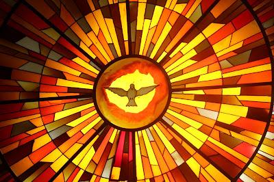 Imagem do Espírito Santo, vitral, #3