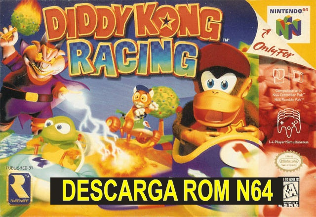 Diddy Kong Racing n64 descarga rom