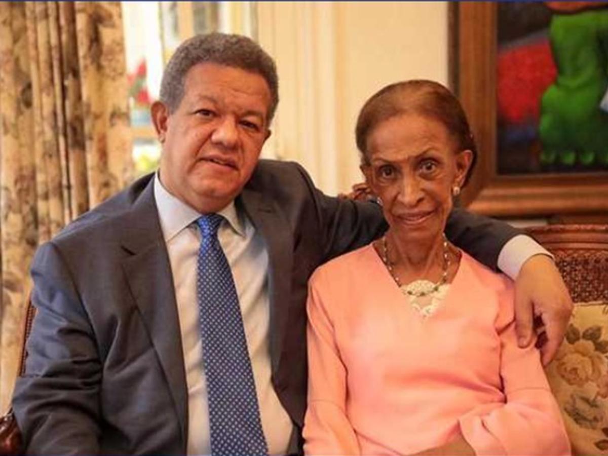 Madre de Leonel Fernández
